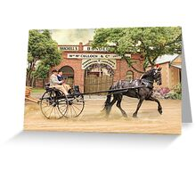Friesian Folly Greeting Card