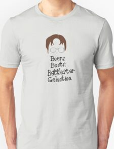 Bears. Beets. Battlestar Galactica. Dwight Schrute the Office Unisex T-Shirt