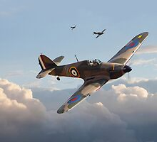 Hurricane - Fighter Sweep by Pat Speirs