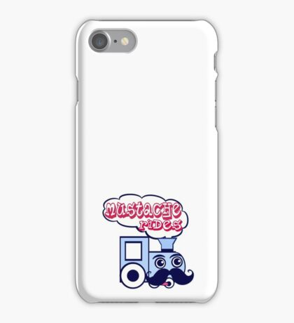 Mustache Rides iPhone Case/Skin