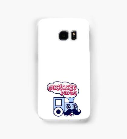 Mustache Rides Samsung Galaxy Case/Skin