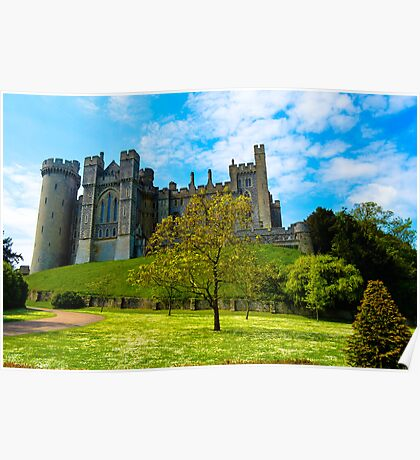 Arundel Castle, Sussex, UK Poster