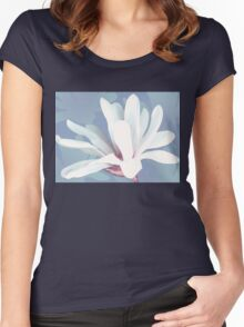 Mother's Magnolia 05 Women's Fitted Scoop T-Shirt