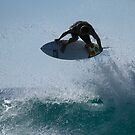 Explosive Surfing At Snapper Rocks by Noel Elliot