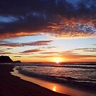 The Sun Decides to Show it's Face by Of Land & Ocean - Samantha Goode