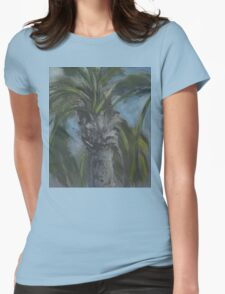 Blessed Shade-Palm Tree AC150603a Womens Fitted T-Shirt