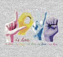 Love is love One Piece - Short Sleeve