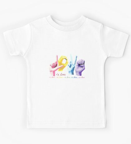 Love is love Kids Tee