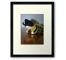 Bumble Bee Child Framed Print
