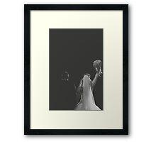 Groom And Bride Framed Print