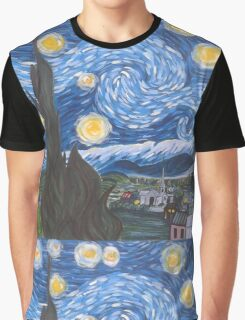 Van Gogh The Starry Night Graphic T-Shirt