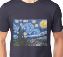 Van Gogh The Starry Night Unisex T-Shirt