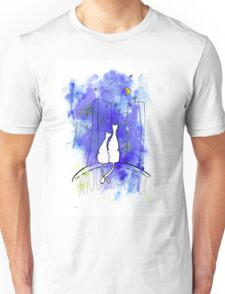 Cats city Unisex T-Shirt