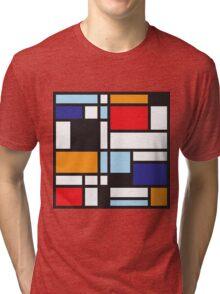 Mondrian Study II Tri-blend T-Shirt