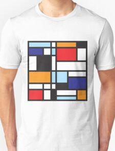 Mondrian Study II Unisex T-Shirt