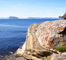 Views beyond Hammerfest, Norway Sticker