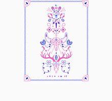 La Vie & La Mort – Pink & Periwinkle Unisex T-Shirt