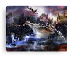 Dragon's Dawn Canvas Print
