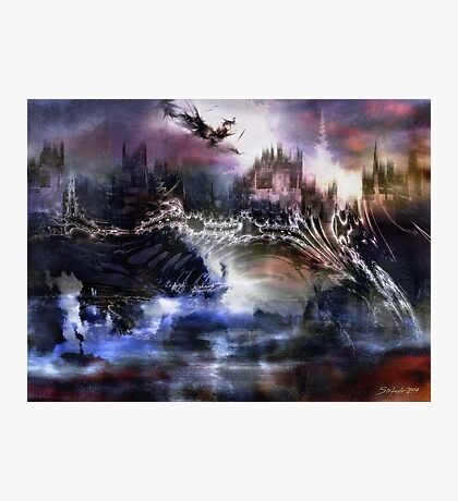 Dragon's Dawn Photographic Print