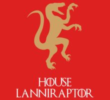 House Lanniraptor (Game Of Thrones dinosaurs) by jezkemp