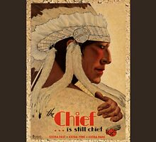 Vintage Rail Travel advert poster, The Chief Unisex T-Shirt
