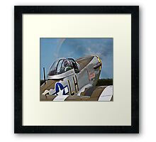 P-51D Mustang 'Janie' Framed Print