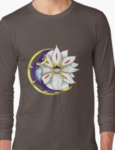 Sun and Moon Pokemon Long Sleeve T-Shirt