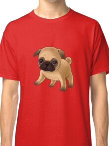 Cute Pug Puppy Classic T-Shirt