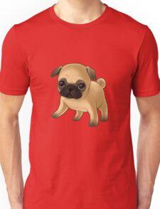 Cute Pug Puppy Unisex T-Shirt