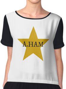 A. Ham Chiffon Top