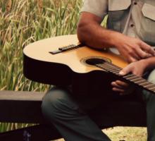 Cowboy Melodies... Sticker
