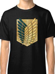 °MANGA° Attack On Titan Rust Logo Classic T-Shirt