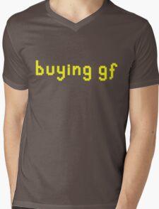 """buying gf"" t-shirt Mens V-Neck T-Shirt"