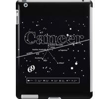 Cancer Star-Chart iPad Case/Skin