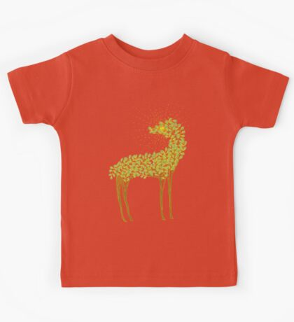 Tree horse with sunburst Kids Clothes