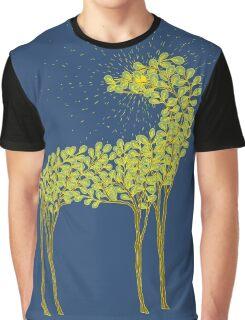 Tree horse with sunburst Graphic T-Shirt
