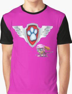 Paw Patrol Air Pups - Skye Badge Graphic T-Shirt