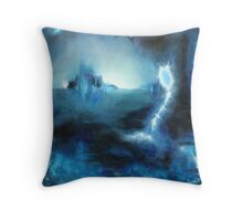 Calm on the Outside Throw Pillow