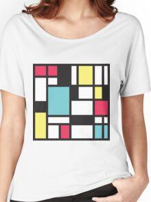 Mondrian Study III Women's Relaxed Fit T-Shirt