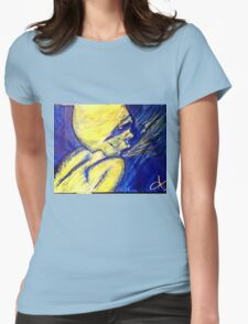 one last breath Womens Fitted T-Shirt