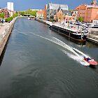 Bydgoszcz the city on the Brda River by Elzbieta Fazel