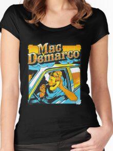 mac demarco Women's Fitted Scoop T-Shirt