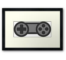 Video Game Controller Framed Print