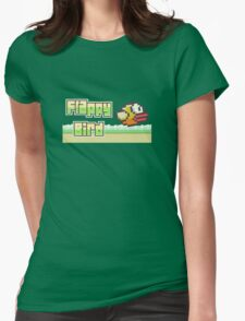 Flappy bird Womens Fitted T-Shirt