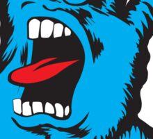screaming blue ILY Sticker