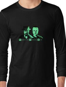 Respect the Chemistry Bitch (Green) Long Sleeve T-Shirt