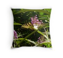 Butterfly011 Throw Pillow