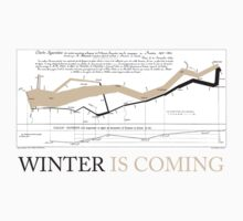 Charles Joseph Minard: Winter is coming T-Shirt