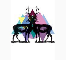 Triangle Deers Unisex T-Shirt