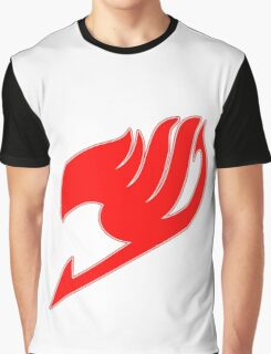 Fairy Tail (Red) Graphic T-Shirt
